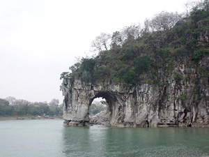 Elefantenrüsselberg in Guilin